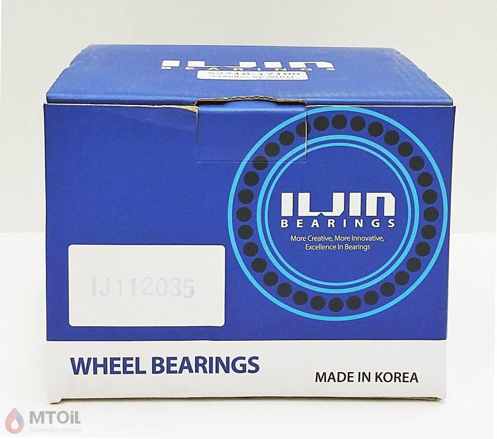 Ступица колеса задняя (+ABS) ILJIN (IJ112035) - 1