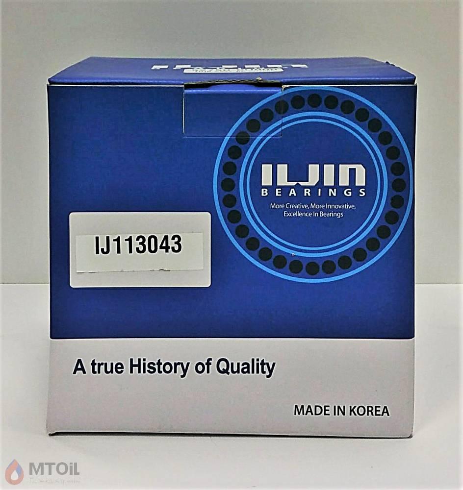 Ступица колеса задняя (+ABS) ILJIN (IJ113043) - 1
