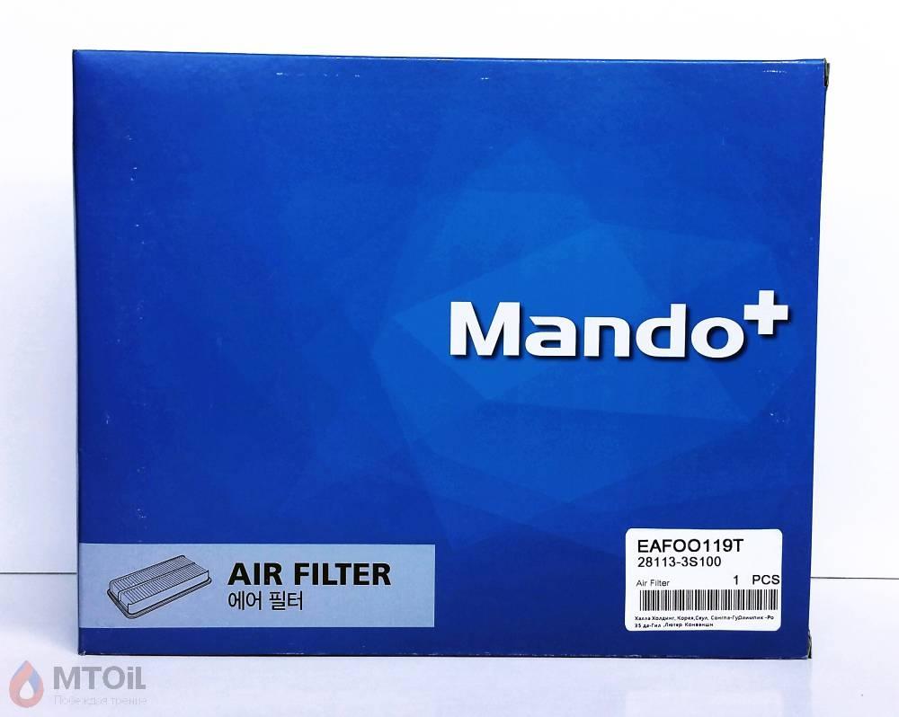 Фильтр воздушный MANDO (EAF00119T) - 1