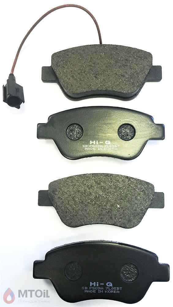 Тормозные колодки HI-Q Brake Pad (SP1201) - 2