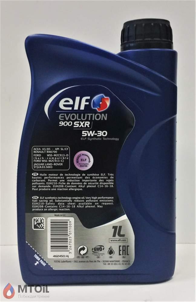 Моторное масло ELF Evolution 900 SXR 5W-30 (1л) - 1