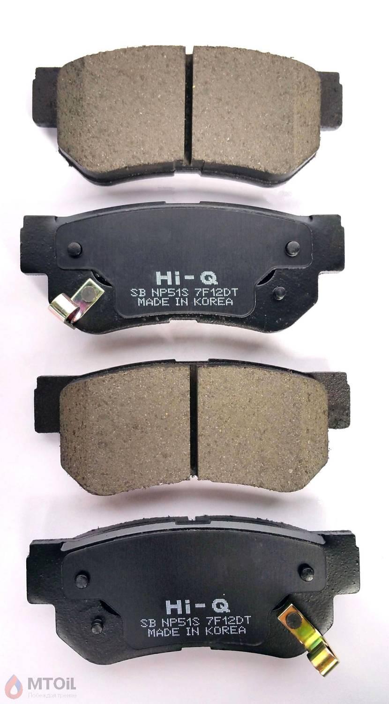 Тормозные колодки HI-Q Brake Pad (SP-1117) - 2