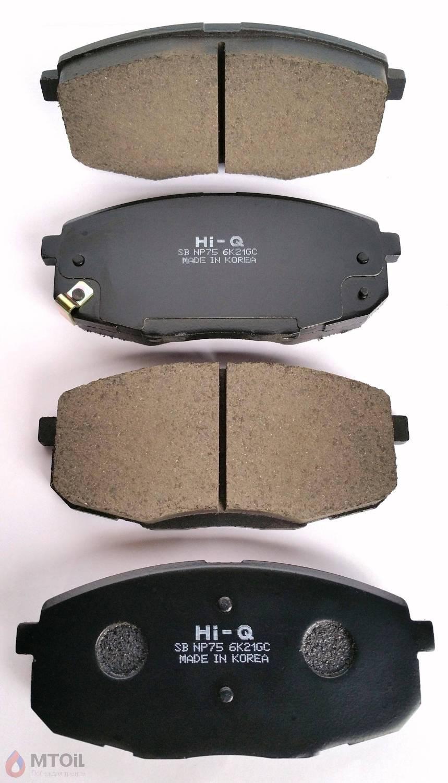 Тормозные колодки HI-Q Brake Pad (SP-1240) - 1