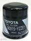Фильтр масляный оригинальный Toyota 90915-YZZE1 - 2