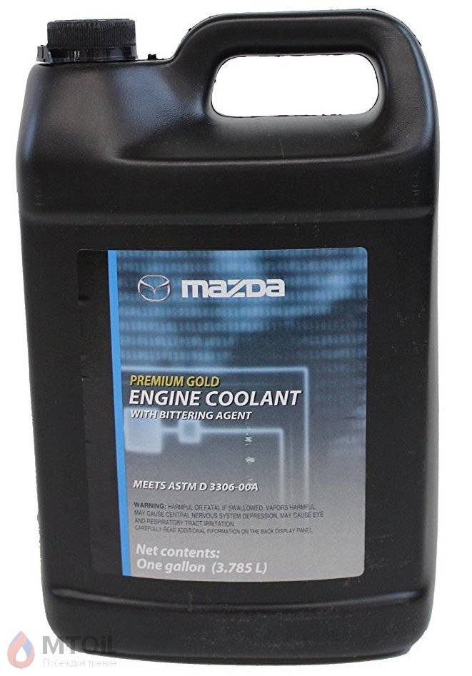 Антифриз Mazda Premium Gold Engine Coolant  (3,785л) - 17948