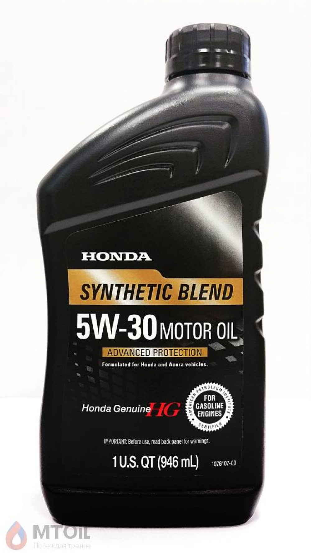 Моторное масло Honda HG Synthetic Blend 5W-30  (0,946л) - 18067