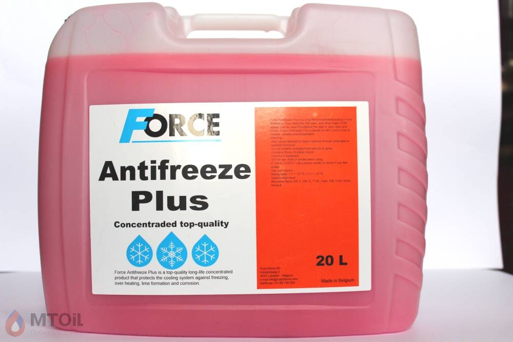 Force Plus Concentrate G12 Red  (20л) - 17919