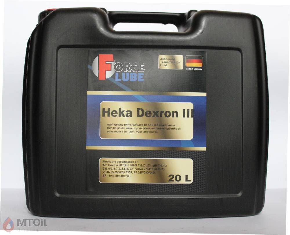 Force ATF Heka Dextron-III  (20л) - 17944