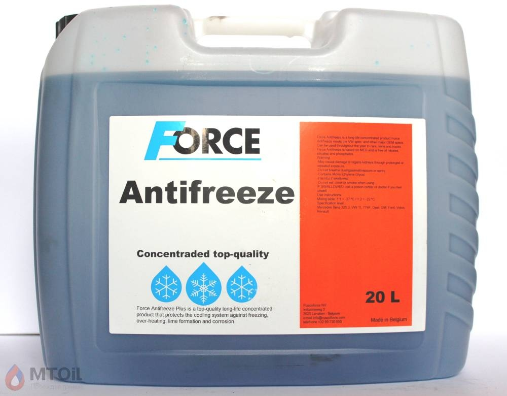 Force Concentrate G11 Blue  (20л) - 17921