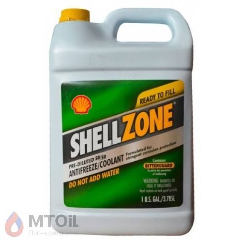 Антифриз ShellZone Green,50/50 (Ready to fill)  (3,785л) - 17451