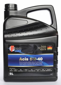 Force Premium Full Synthetic Engine Oil Acis 5w-40 (5л)