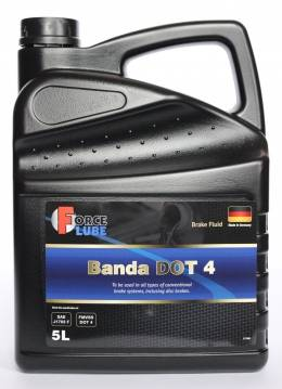 Force Brake Fluid Banda DOT4 0 (5л)