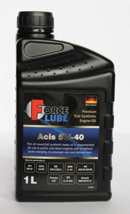 Force Premium Full Synthetic Engine Oil Acis 5w-40 (1л)