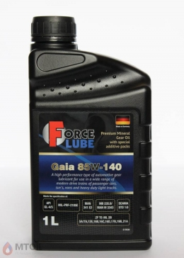 Force Premium Gear Oil Gaia 85w-140 (1л)