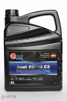 Force Premium Full Synthetic Engine Oil Anat 5w-40 (5л)