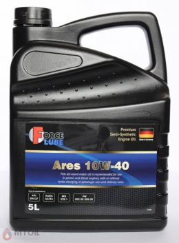 Force Premium Semi Synthetic Engine Oil Ares 10w-40 (5л)