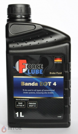 Force Brake Fluid Banda DOT4 0 (1л)