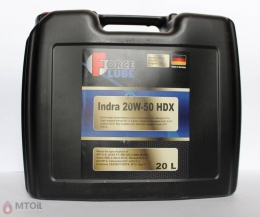 Force Diesel Engine Oil IndraHDX 20w-50 (20л)