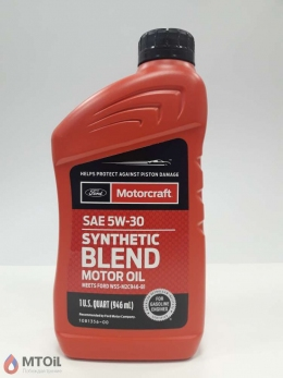 Моторное масло Motorcraft  Premium Synthetic Blend 5W-30 (0,946л)