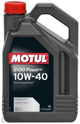 MOTUL  2100 Power+ 10w-40 (1л)
