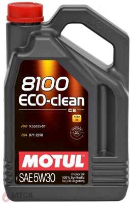 MOTUL  8100 Eco-clean+ 5w-30 (5л)