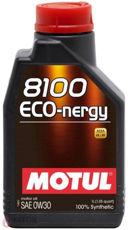 MOTUL  8100 Eco-nergy 0w-30 (1л)