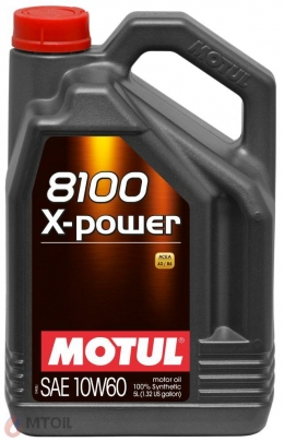 MOTUL  8100 X-power 10w-60 (5л)