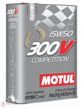 MOTUL  300V Competition 15w-50 (2л)