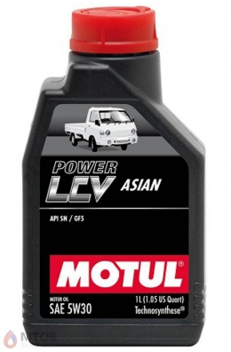 MOTUL  Power LCV Asian 5w-30 (1л)