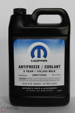 Антифриз Mopar Antifreeze Coolant 5year  (3,785л)