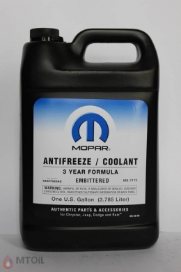 Антифриз Mopar Antifreeze Coolant 3year  (3,785л)