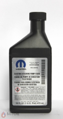 трансмиссионное Mopar Electric Steering Pump Fluid  (0,473л)